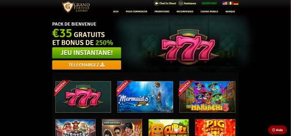 Grand Fortune Casino En Ligne
